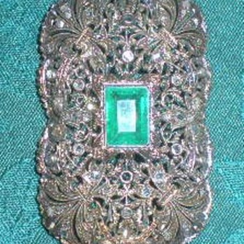 Heirloom brooch/necklace - Fine Jewelry
