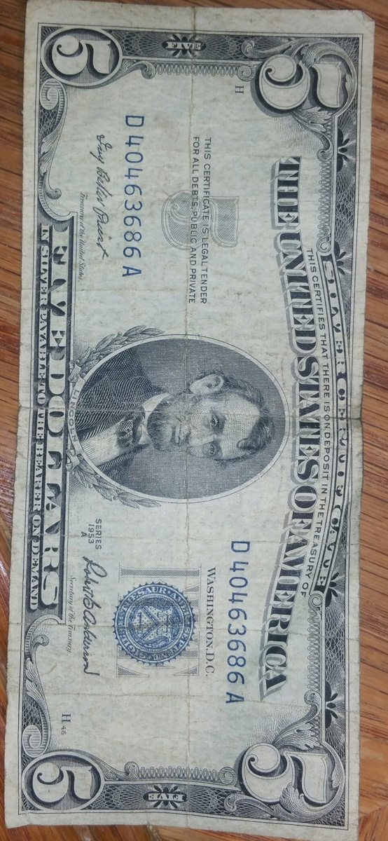 $5 silver certificate notes-- are they real or fake | Collectors Weekly