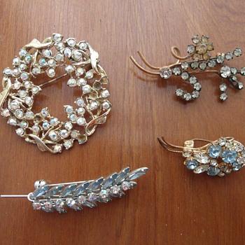 My grandma's brooches 2 - Costume Jewelry