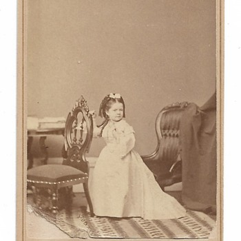 Miss Jennie Quigley,  Lilliputian Actress, 1878-81 - Photographs