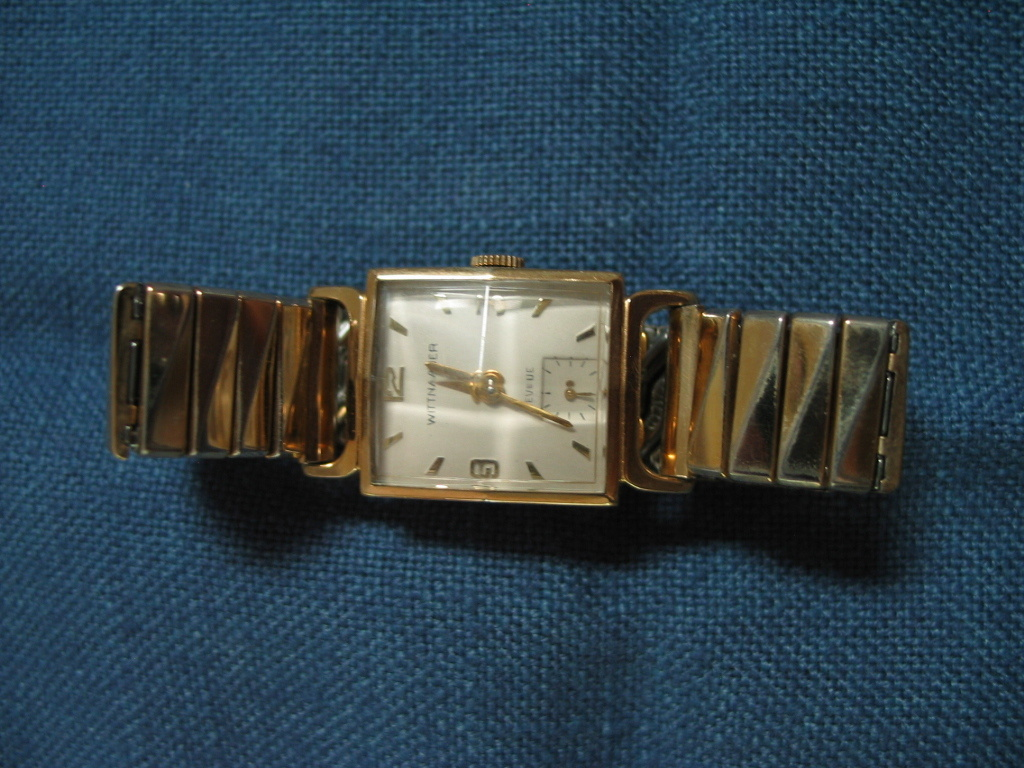 1950 s wittnauer watch collectors weekly rh collectorsweekly com Wittnauer Watches Model Numbers Wittnauer Watch Values