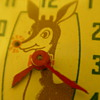 1947 Rudolph Red Nose Reindeer Watch By Ingraham