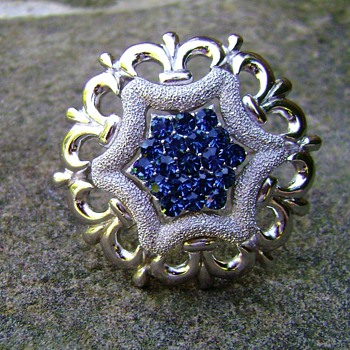 Trifari Star Brooch - Costume Jewelry