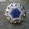 Trifari Star Brooch