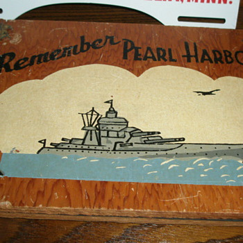 Remember Pearl Harbor Items in My Collection - Military and Wartime
