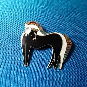Laurel Burch Embracing Horses  - Animals