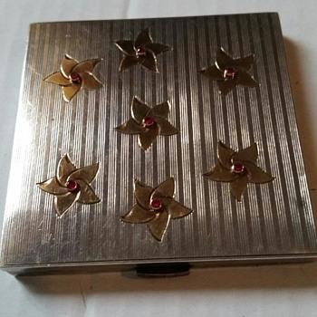 Vintage Sterling Cigarette Case - Tobacciana