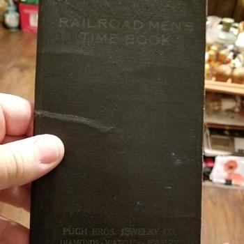 Railroad Time Record - Railroadiana