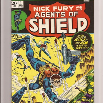 Nick Fury reprints - Comic Books