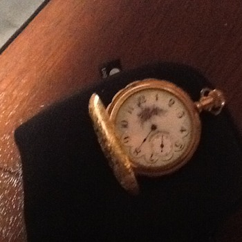 Grandmother's American Waltham pocket watch
