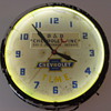 chevrolet dealer clock 1947