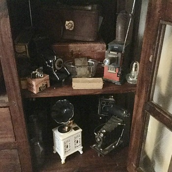 Some of my more of my husbands antiques  - Victorian Era