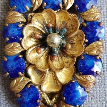 Czech brooches - Art Nouveau