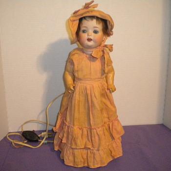 German Doll Lamp - Lamps