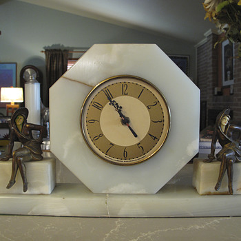 Another Sophisticated Lady Clock, 1928-31, J. B. Hirsch and Whitehall Hammon - Clocks