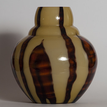 Kralik Bambus vase or lamp foot? - Art Glass