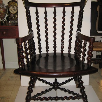 Merklen Brothers chair. - Furniture