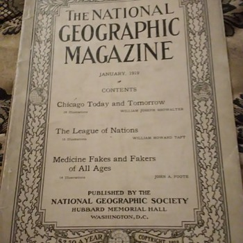 The National Geographic Magazine - Paper