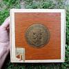 Antonio Y Cleopatra 50 grenadiers N.C.I.W dark cigar box