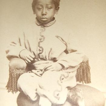 African American child CDV