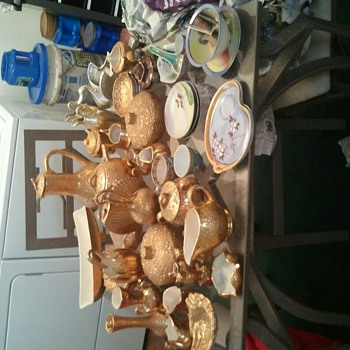 My 24K Weeping Gold Collection - Pottery
