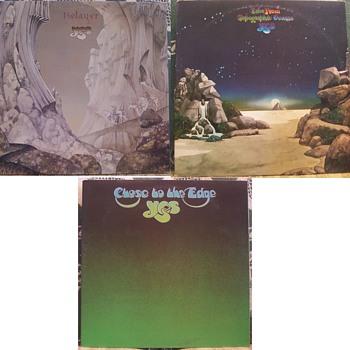 'YES'.....Progressive Rock! - Records
