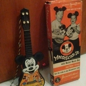 1950's Mattel Mickey MouseGetar Jr.