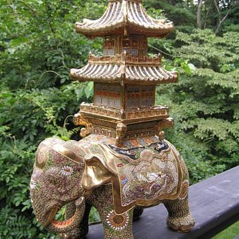 Elephant pogoda  lamp - Lamps