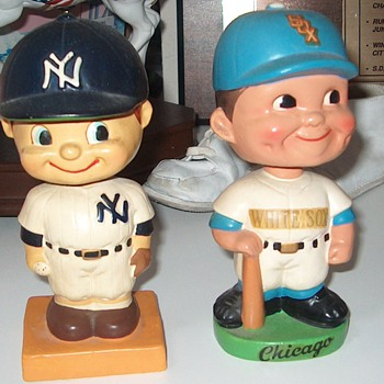 1959 Yankees  and White Sox Bobbleheads