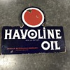 Havoline oil flange sign