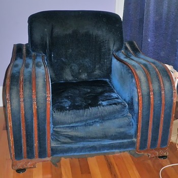 Art Deco Couch and Chairs