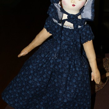 Sophie Marie, A Izannah Walker Style Doll By Christine Lefever