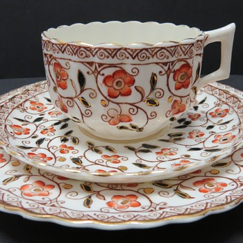Victorian Cup, Saucer and Plate - rd 108731 - China and Dinnerware