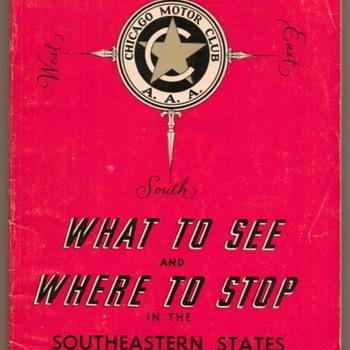 1968 - Southeastern States Tour Book