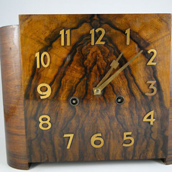 Gustav Becker Art Deco Mantel clock #1040 , March 1931