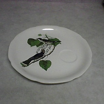 AUDUBON KING BIRD PLATE - China and Dinnerware