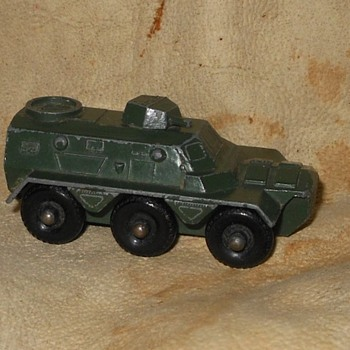 Martial Military Matchbox MB-54A Saracen Personnel Carrier  - Model Cars