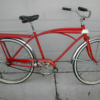 1950s - 60s tank bike w/ light - Sporting Goods