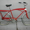 1950s - 60s tank bike w/ light