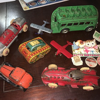 1930's TREASURE BOX...... FOUND! - Toys