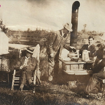 """Grand Father""""Along The Momorency River""""1906 - Photographs"""