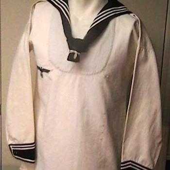 WW II German Kriegsmarine White Pullover Jumper - Military and Wartime