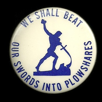 4 Phil and Dan Berrigan Vietnam Protest Pinback Buttons - Medals Pins and Badges