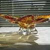 Chalet art glass bowl