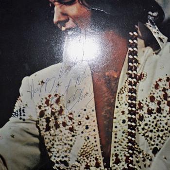 elvis autograph - Music Memorabilia