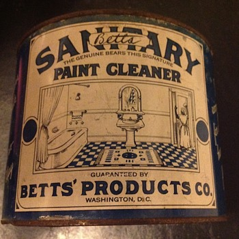 Betts Sanitary Paint Cleaner... - Advertising