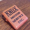 KNOX MOTOR SERVICE INC. metal advertising clip