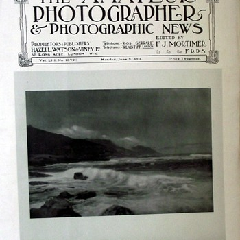 1911-the amateur photographer magazine/photographic news.