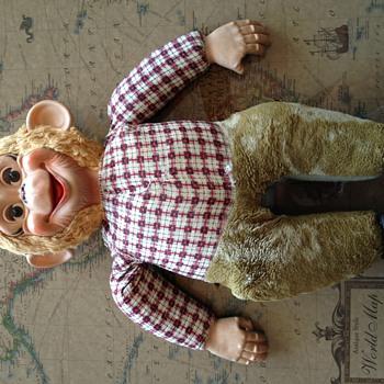 Curious western chimp toy - Dolls