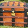 1880's? Romodka Brothers Barrel top Trunk
